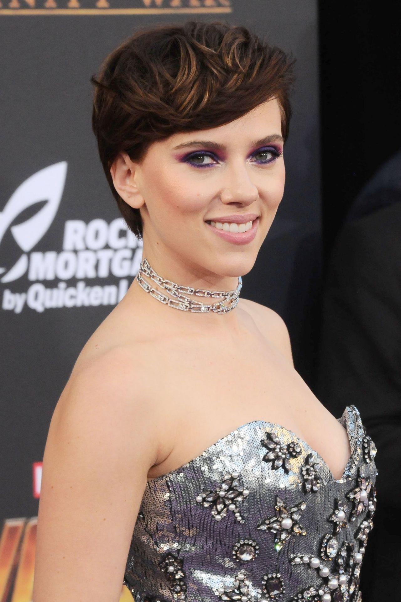 """Scarlett Johansson – """"Avengers: Infinity War"""" Premiere in LA Scarlett Johansson"""