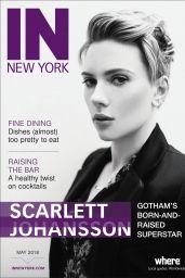 Scarlett Johansson - IN New York Magazine May 2018