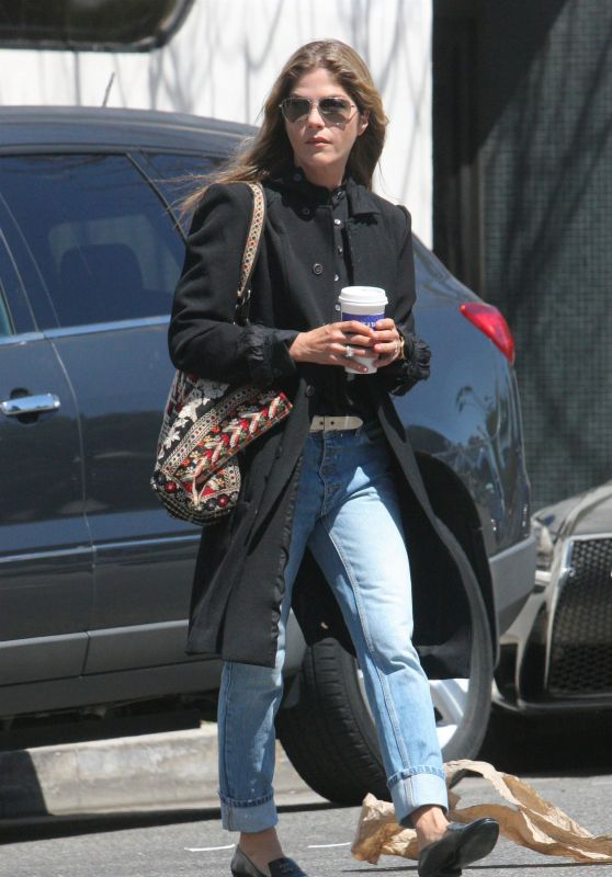Selma Blair Casual Style - Los Angeles 04/16/2018
