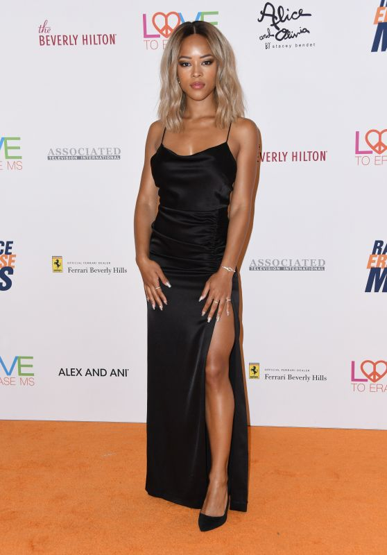 Serayah McNeill – 2018 Race To Erase MS Gala in Beverly Hills
