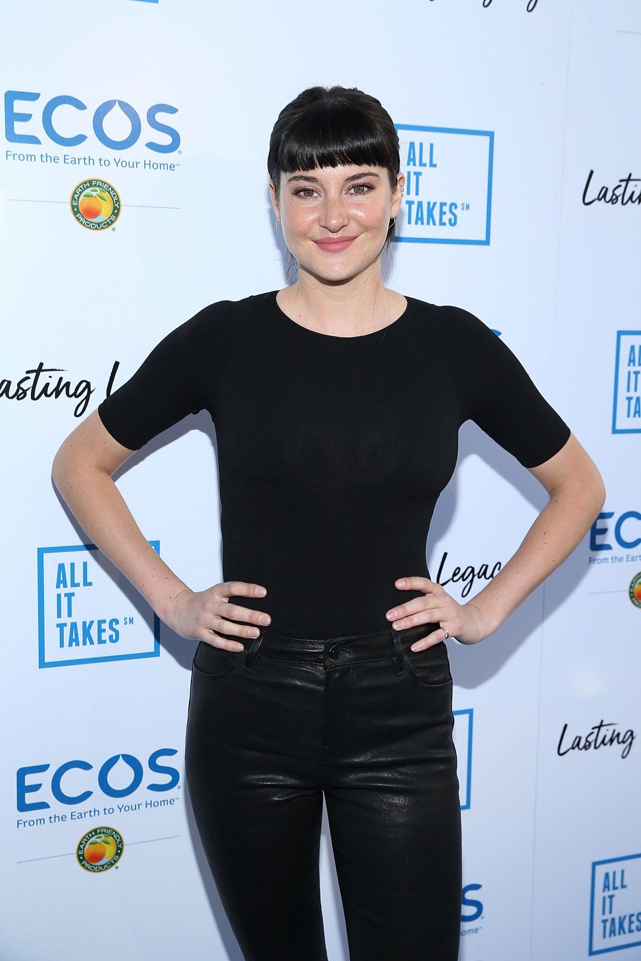 Shailene Woodley All It Takes Fundraiser Dinner In