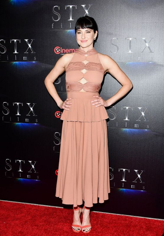 Shailene Woodley - STXfilms Presentation at CinemaCon 2018 in Las Vegas