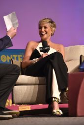 """Sharon Stone - HBO """"Mosaic"""" Presentation, The Contenders Emmys in LA"""