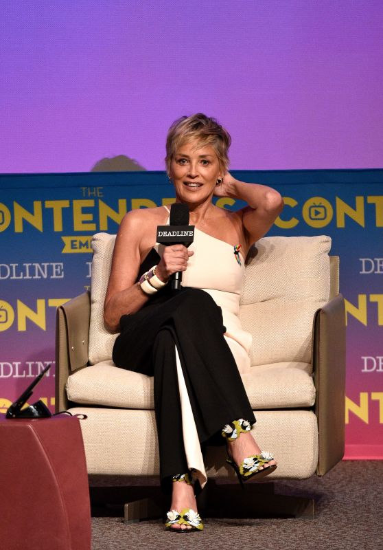 "Sharon Stone - HBO ""Mosaic"" Presentation, The Contenders Emmys in LA"