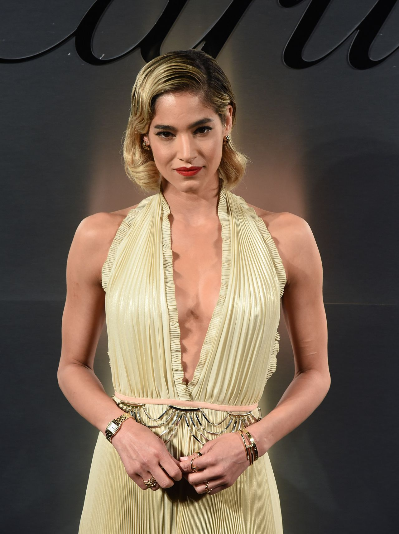 Sofia Boutella Cartier S Bold And Fearless Celebration