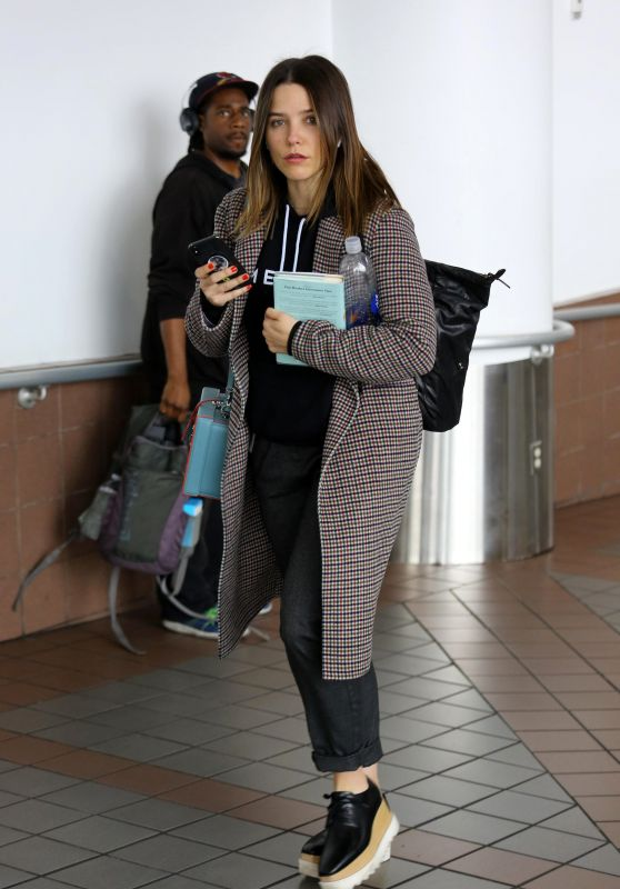 Sophia Bush at LAX Airport in LA 04/07/2018