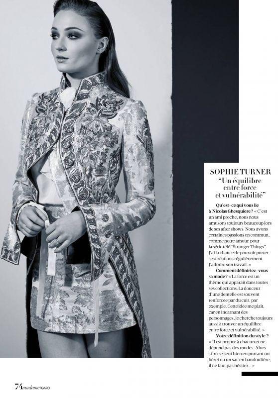 Sophie Turner - Madame Figaro April 2018
