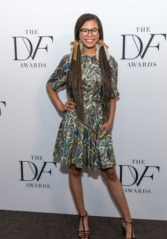 Storm Reid – 2018 DVF Awards in New York