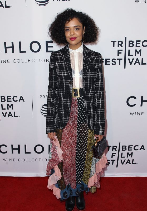 "Tessa Thompson – US Narrative Competition Premiere of ""Little Woods"" at the 2018 Tribeca Film Festival"