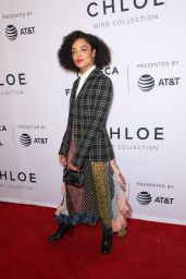 """Tessa Thompson – US Narrative Competition Premiere of """"Little Woods"""" at the 2018 Tribeca Film Festival"""