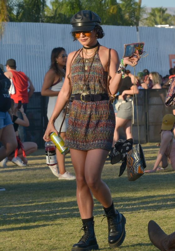Vanessa Hudgens - Coachella 2018 Weekend 2 in Indio
