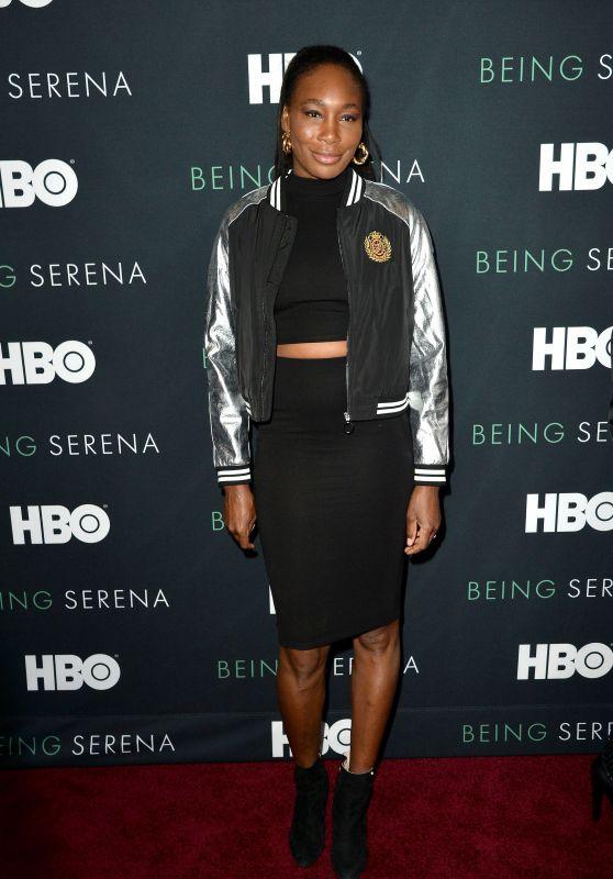 "Venus Williams - ""Being Serena"" Premiere in New York"