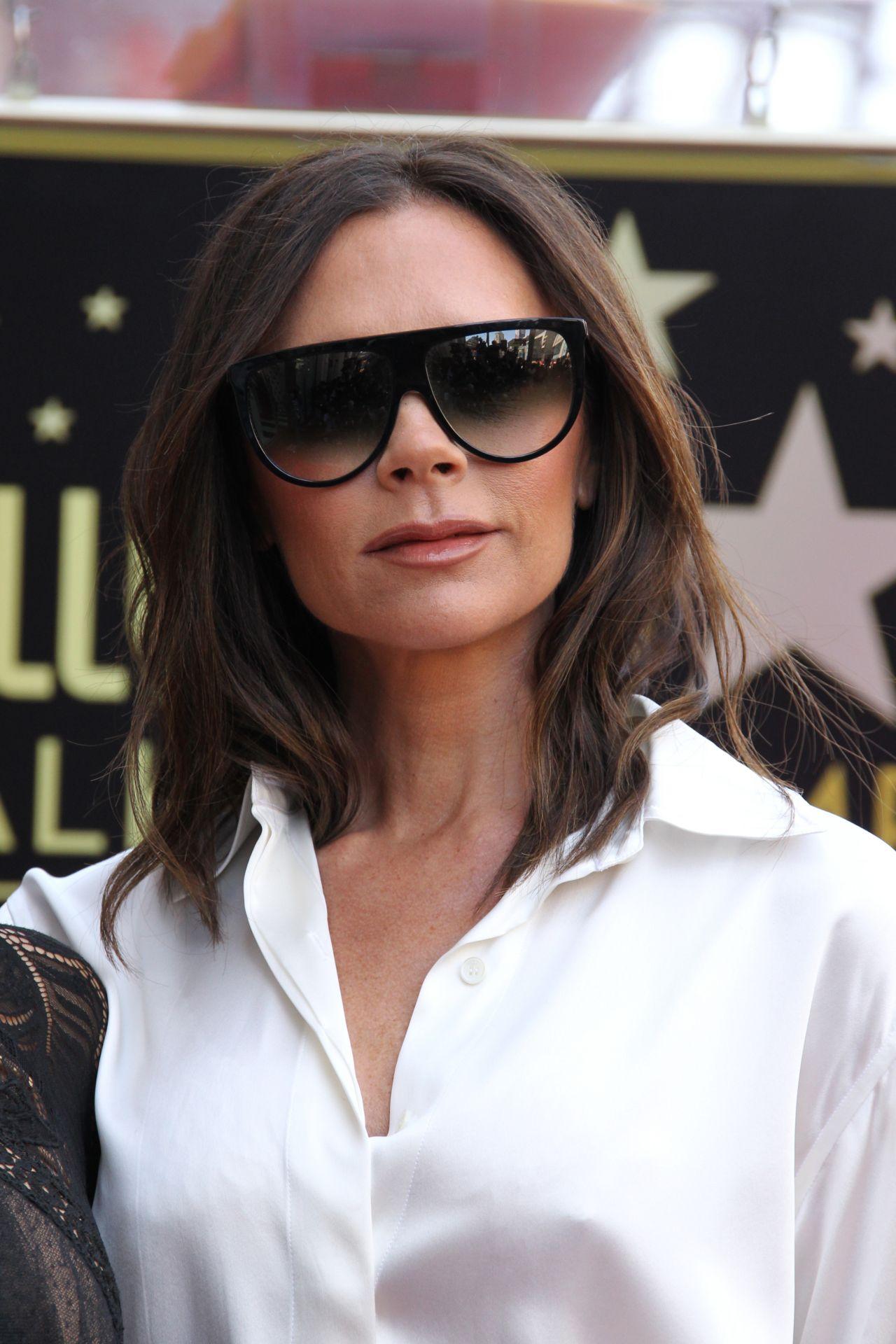 Victoria Beckham – Eva Longoria Hollywood Walk of Fame in LA Victoria Beckham