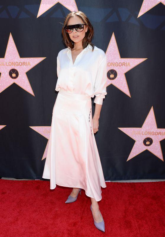 Victoria Beckham – Eva Longoria Hollywood Walk of Fame in LA