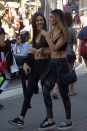 Victoria Justice and Maddy Grace at the Grove in Los Angeles 03/29/2018