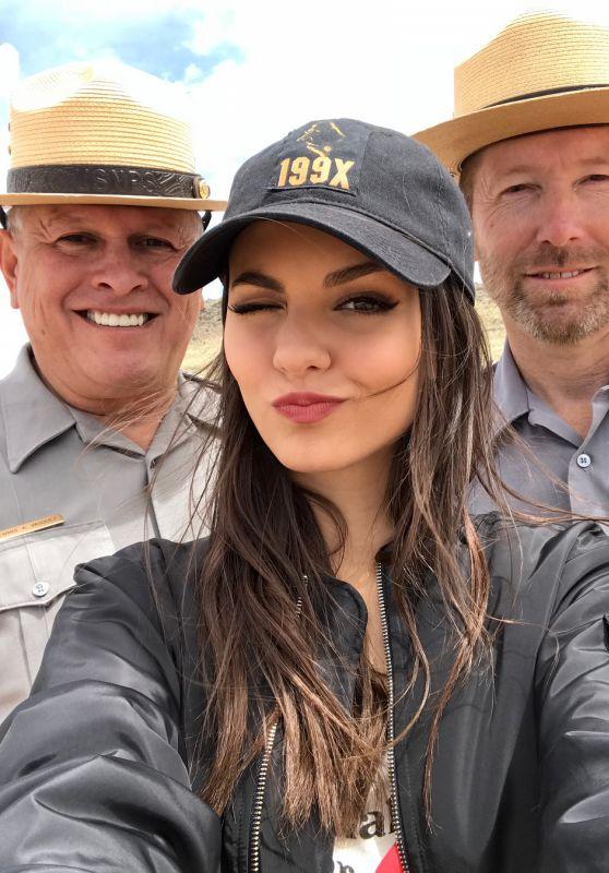 Victoria Justice - Social Media 04/27/2018