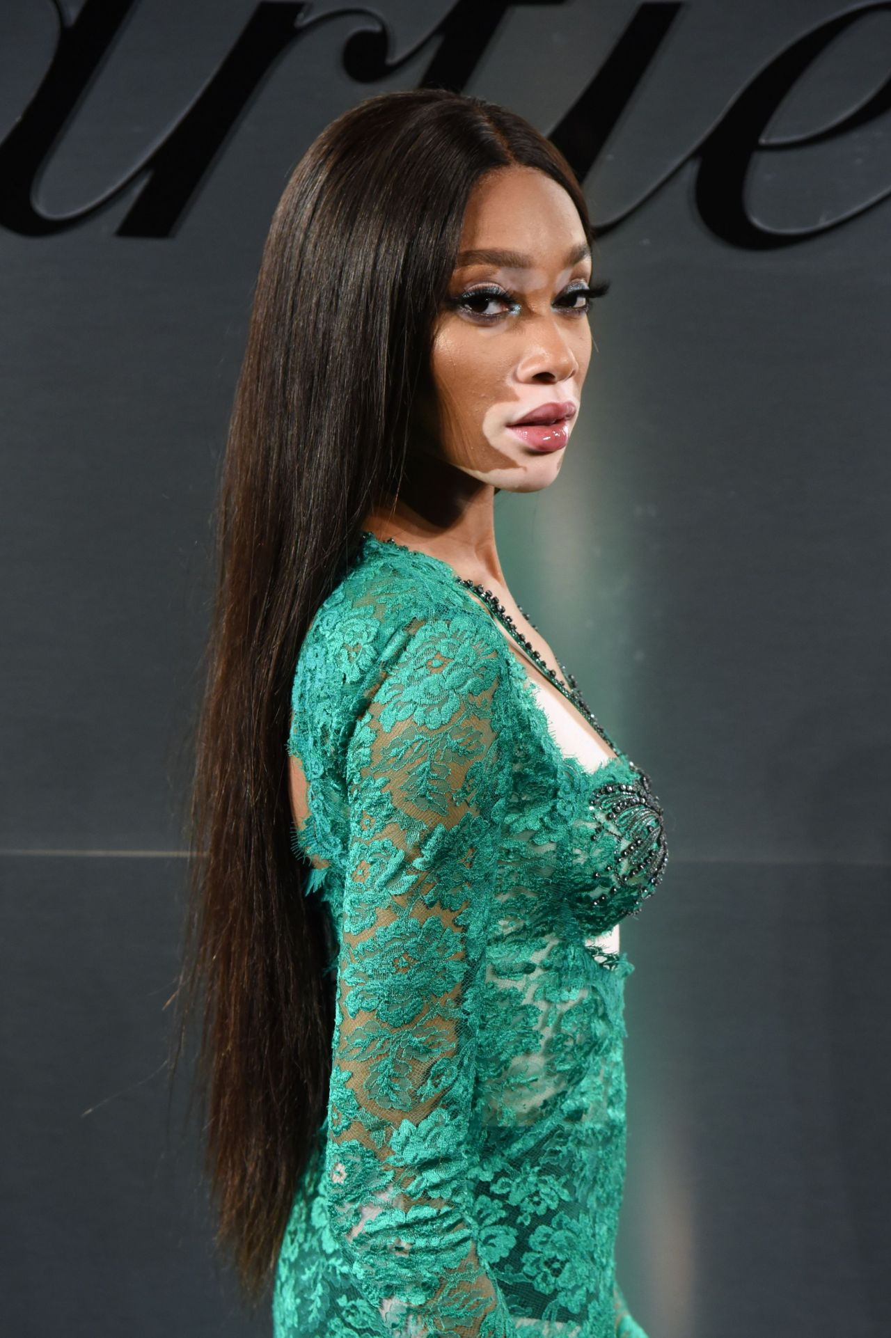 winnie harlow � cartier�s bold and fearless celebration in