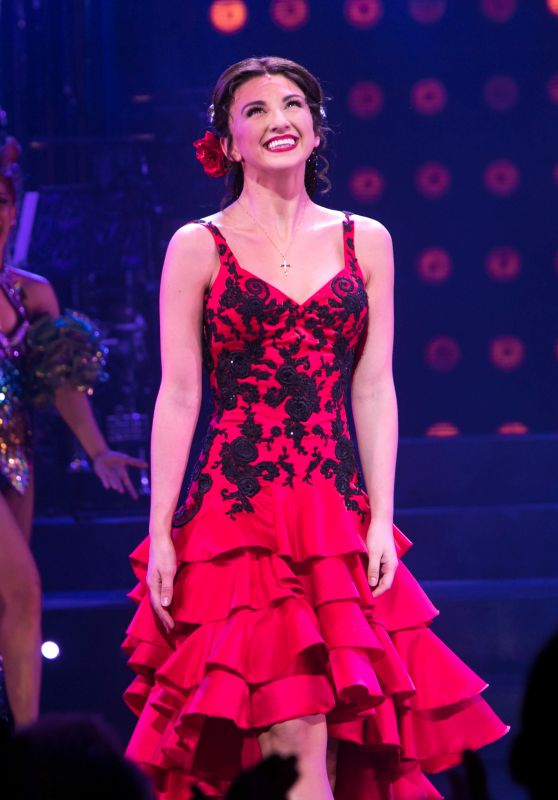 "Zizi Strallen - ""Strictly Ballroom"" First Night Curtain Call and Afterparty in London"