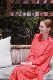 Zoey Deutch – Poolside With H&M at Coachella 2018 in Palm Springs