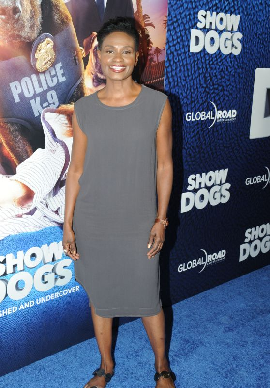 "Adina Porter – ""Show Dogs"" Premiere in New York"