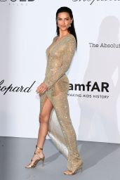 Adriana Lima – amfAR's Cinema Against AIDS Gala in Cannes 05/17/2018