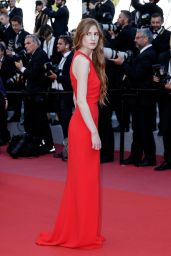 "Agathe Bonitzer – ""The Man Who Killed Don Quixote"" Red Carpet in Cannes 05/19/2018"