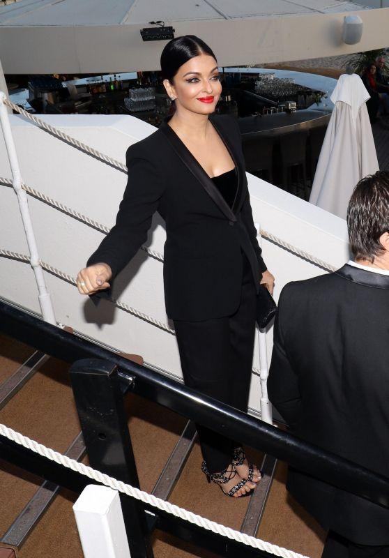Aishwarya Rai Bachan - Out in Cannes 05/12/2018