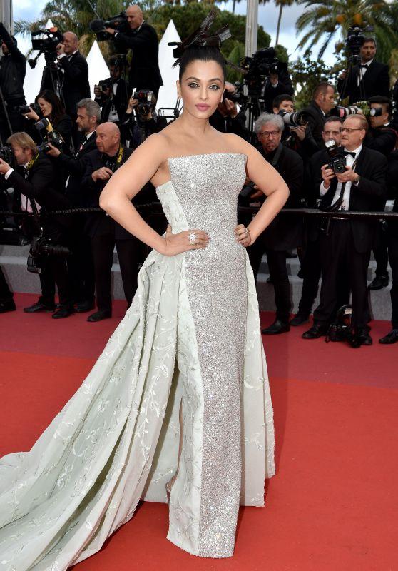 "Aishwarya Rai Bachchan – ""Sink or Swim"" Red Carpet in Cannes"