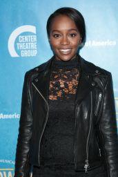 """Aja Naomi King – """"Soft Power"""" Theatre Show Premiere in LA"""