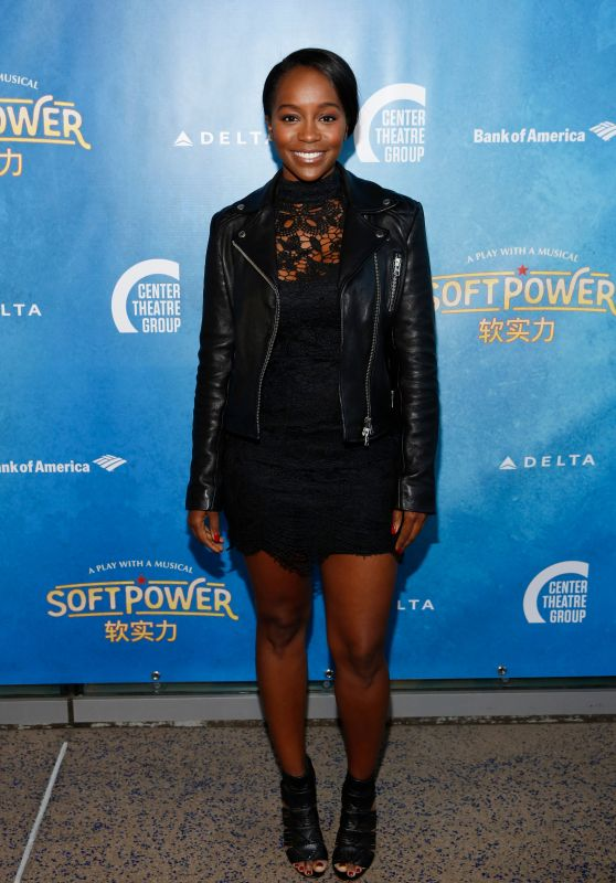 "Aja Naomi King – ""Soft Power"" Theatre Show Premiere in LA"