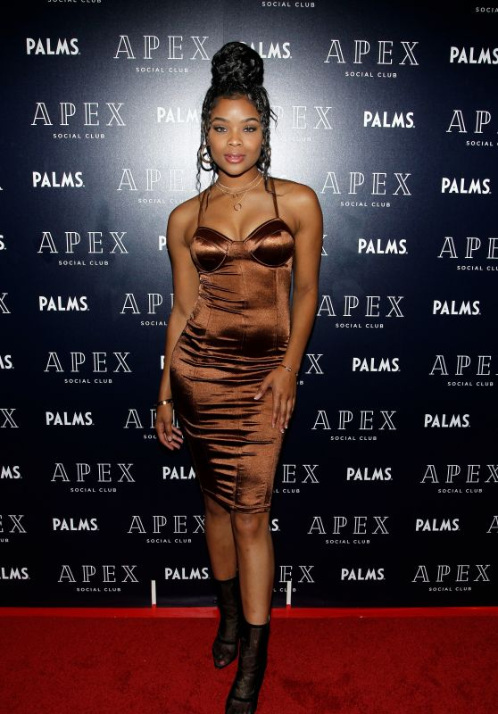 Ajiona Alexus – Opening of Clique Hospitality's APEX Social Club + Camden Cocktail Lounge in Las Vegas 05/26/2018