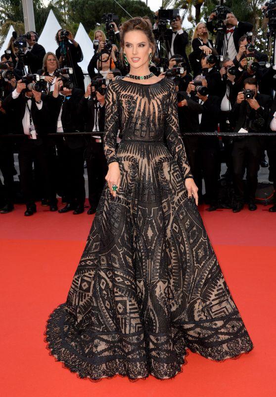 "Alessandra Ambrosio – ""BlacKkKlansman"" Premiere in Cannes"