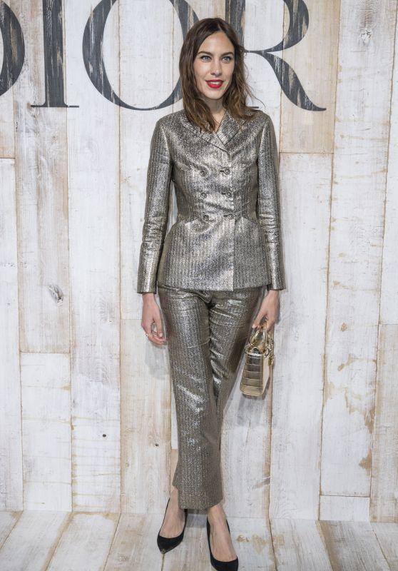 Alexa Chung – Christian Dior Couture Cruise Collection Photocall 05/25/2018