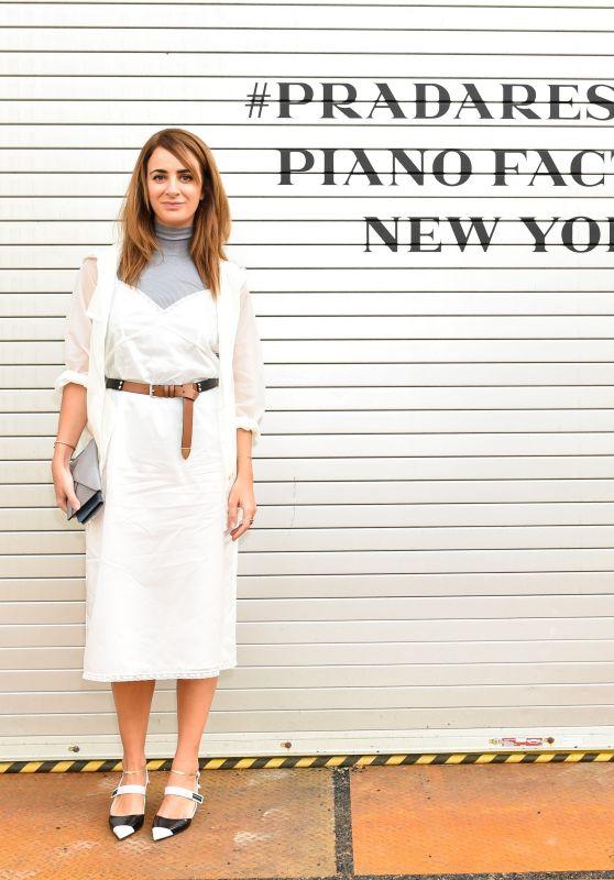 Alexia Niedzielski - Prada Resort : 2019 Show in NYC 05/04/2018