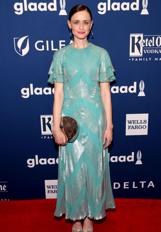 Alexis Bledel – 2018 GLAAD Media Awards