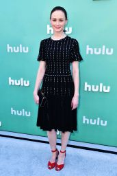 Alexis Bledel – Hulu Upfront Presentation in NY 05/02/2018
