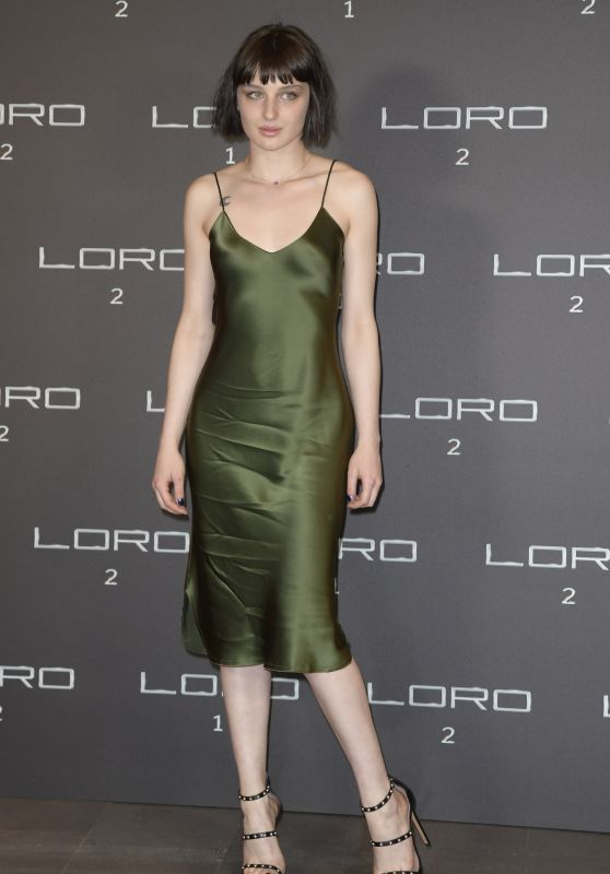 """Alice Pagani – """"Loro 2"""" Photocall in Rome"""