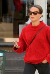 Alicia Vikander in Casual Outfit - New York City 05/08/2018