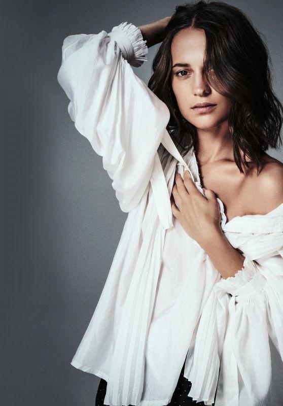 Alicia Vikander - Photoshoot for Madame Figaro 2018