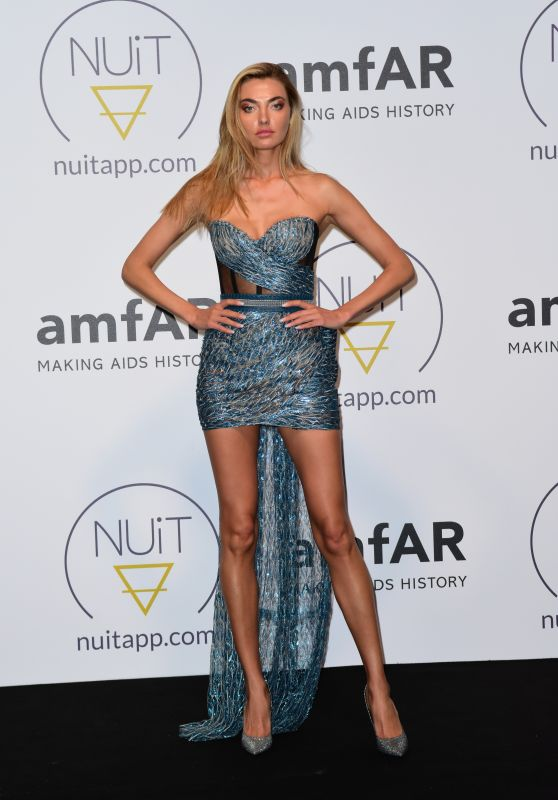 Alina Baikova – Pre AmfAR NuitApp Party in Cannes 05/16/2018