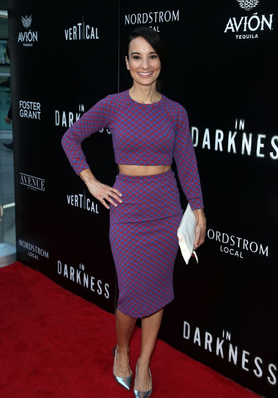 """Alison Becker – """"In Darkness"""" Premiere in Hollywood"""