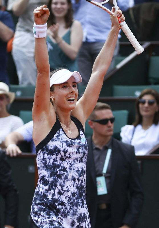 Alize Cornet – French Open Tennis Tournament 2018 in Paris 05/27/2018