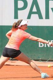 Alize Cornet – Practices at 2018 Roland Garros in Paris 05/24/2018