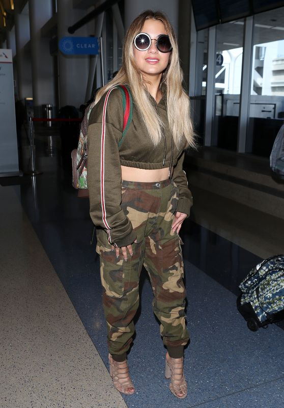 Ally Brooke at LAX Airport in LA 05/10/2018