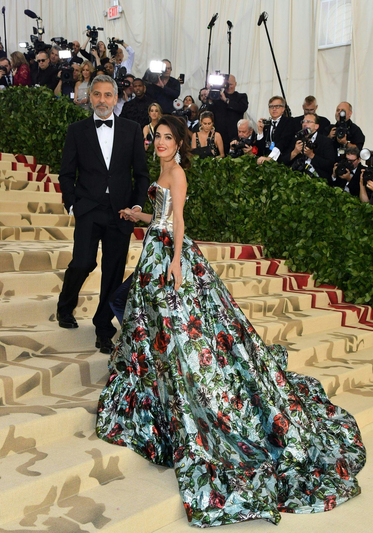 Amal Clooney And George Clooney Met Gala 2018