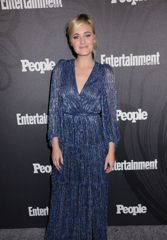 Amanda AJ Michalka – 2018 EW and People Upfronts Party in New York