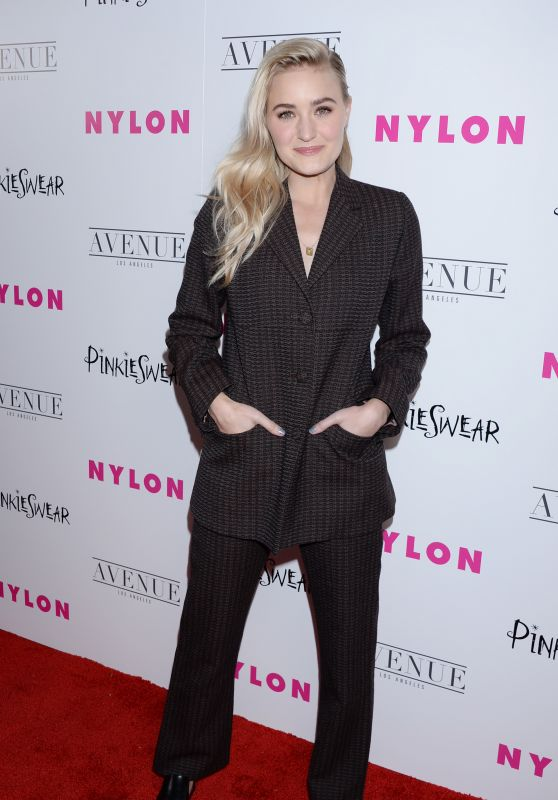 Amanda AJ Michalka – NYLON Young Hollywood Party in LA