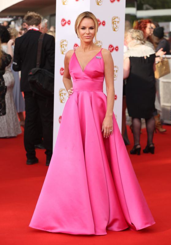 Amanda Holden – BAFTA TV Awards 2018 in London