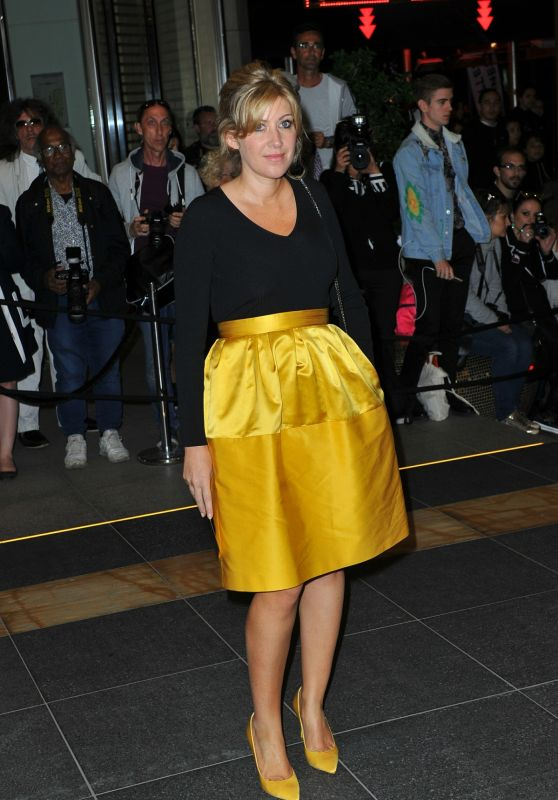 Amanda Sthers at the Marriott Hotel for the Dior Dinner in Cannes