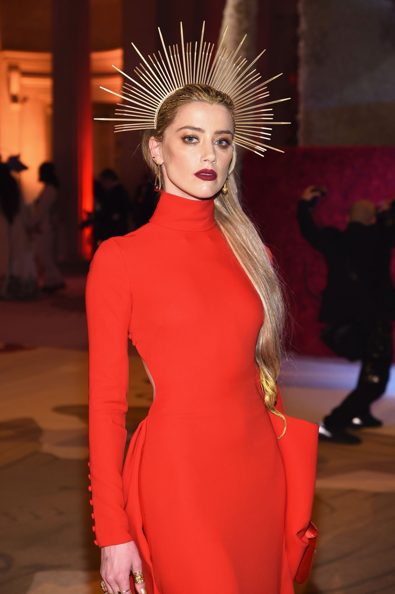 Amber Heard – MET Gala 2018